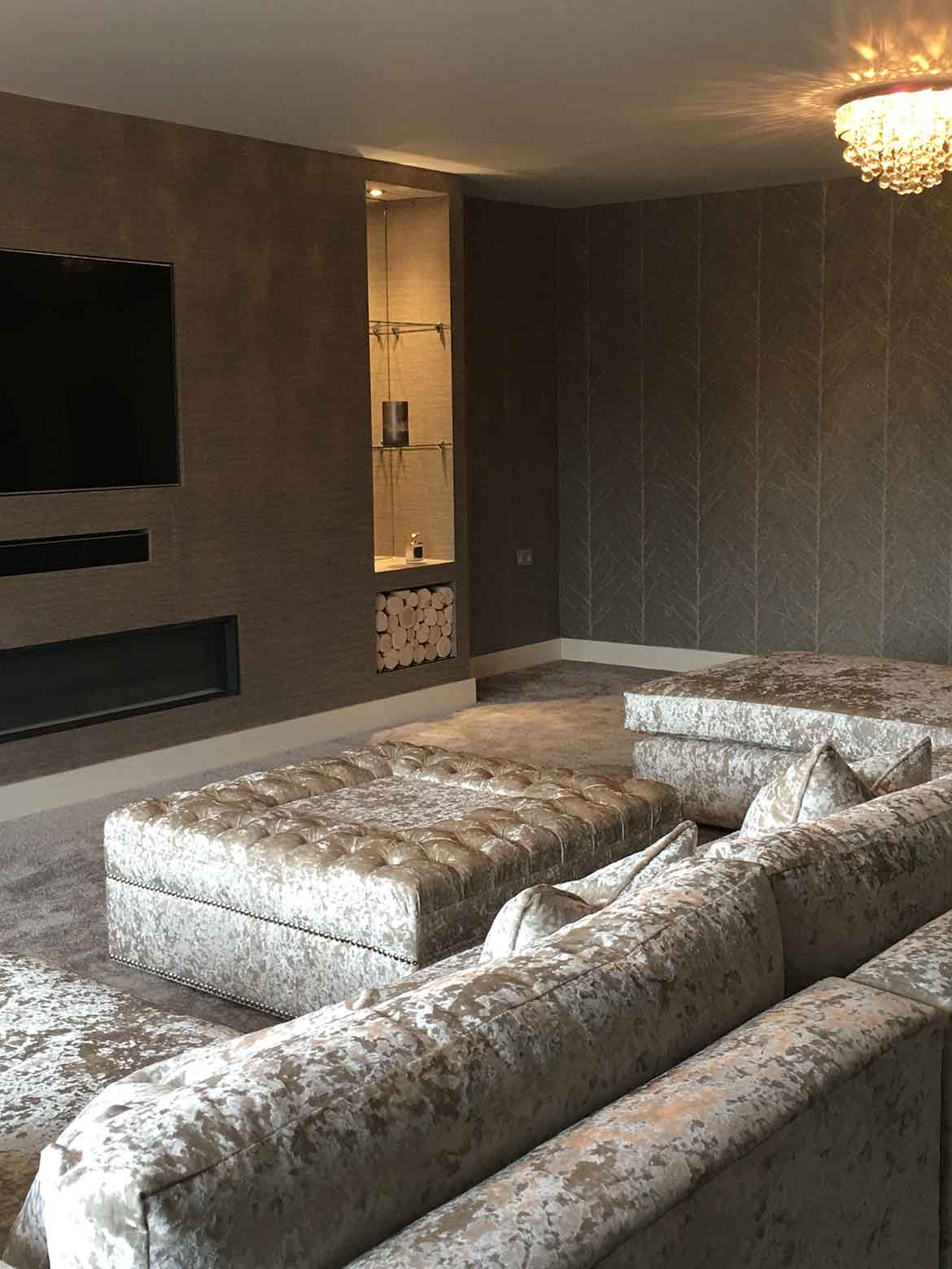 bespoke furnishings for residential project in telford