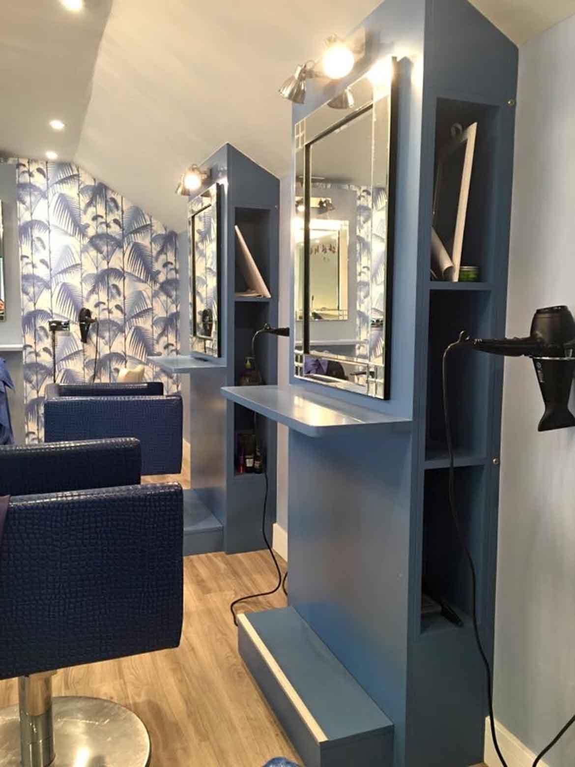 Interior Design for High Street Salon in Diss Norfolk