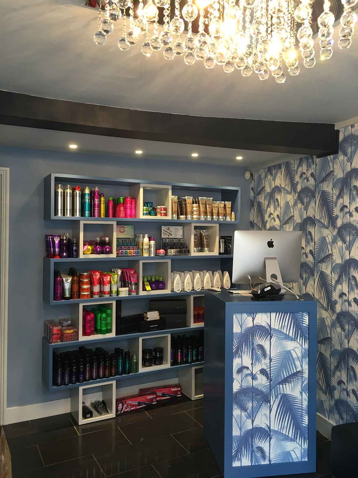 Hair Salon Design for Norfolk Based Crackers and Chaps