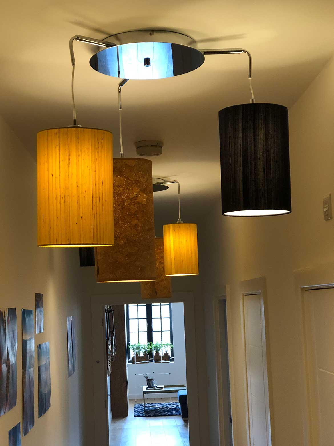 Lighting by Swank Interiors at Market View Norwich