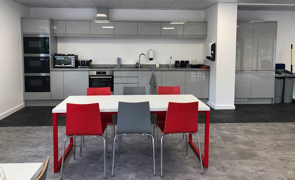 Office Space Design by Swank Interiors in Suffolk