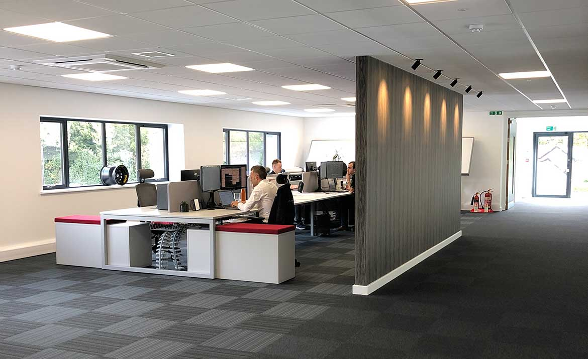 Office Span Design for Renvale by Swank Interiors