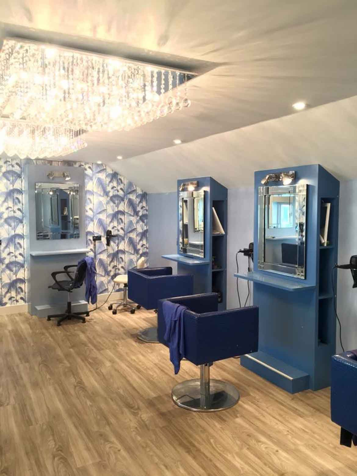 Salon Design for Crackers and Chaps in Diss
