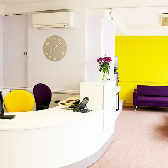 Office space interior design by Swank Interiors