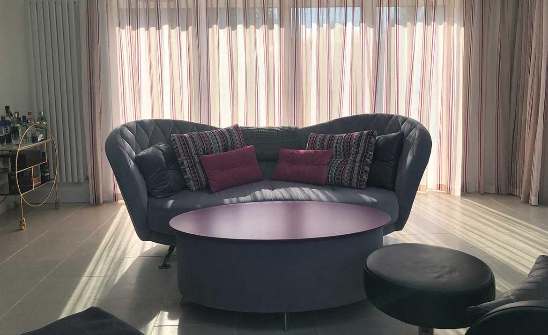 Residential design for family home swank interiors