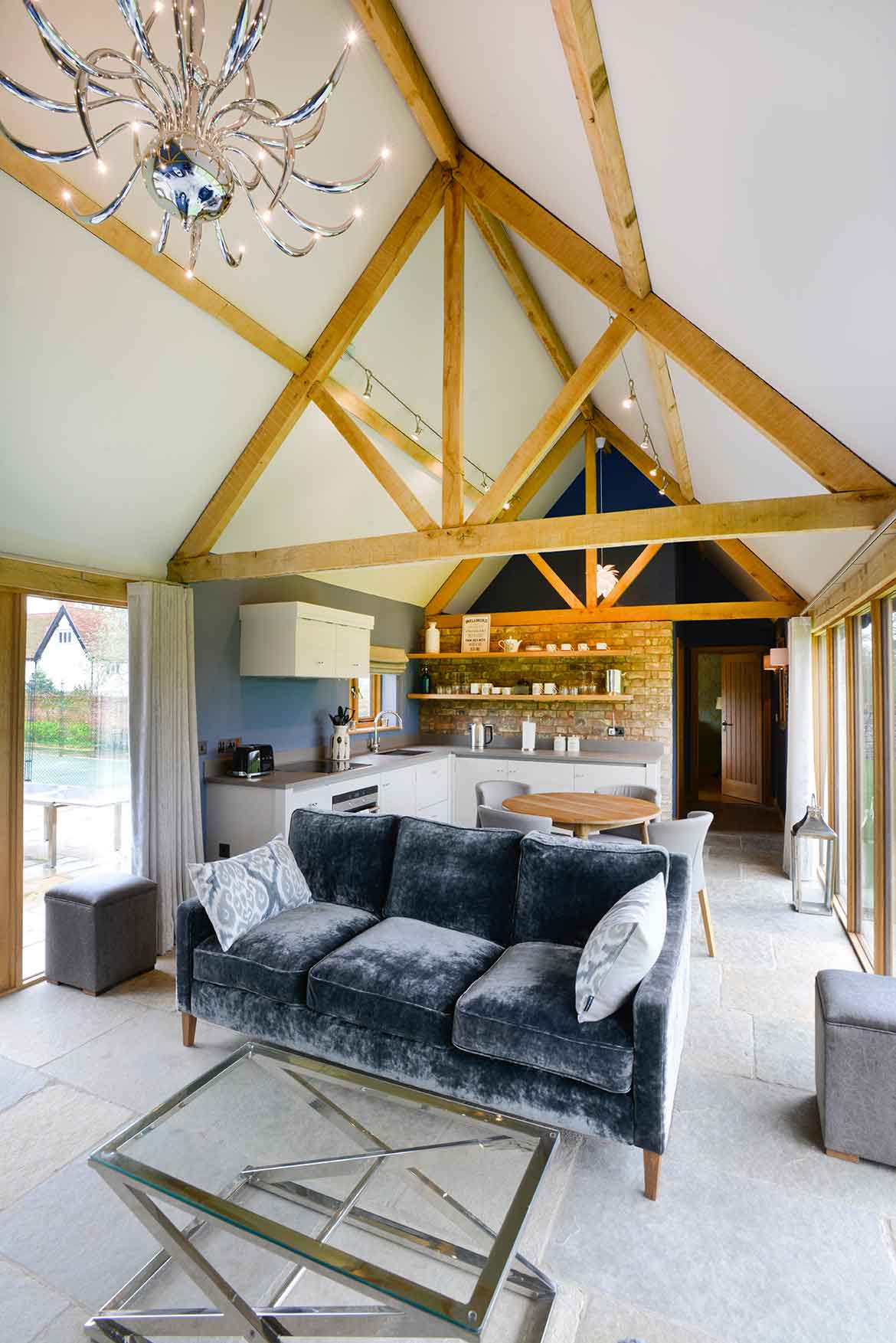 Interior Design of Holiday Let in Botesdale Suffolk