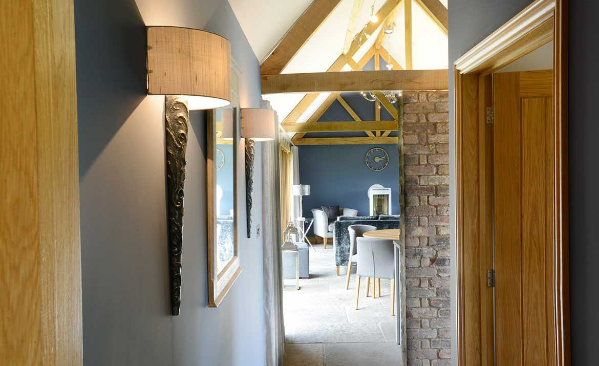 Suffolk interior design for holiday home