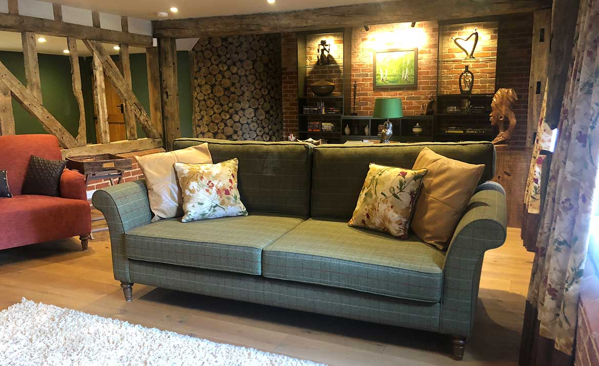 Interior design family lounge by swank interiors