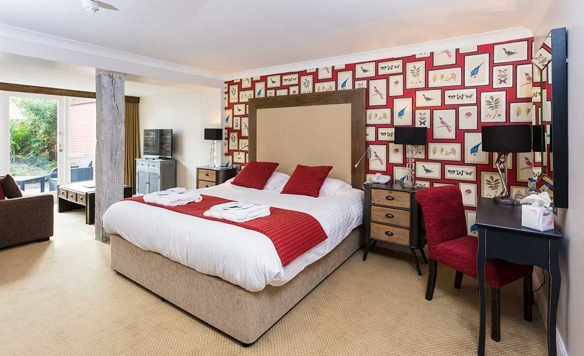 Bedroom Design at Park Farm Hotel Norfolk
