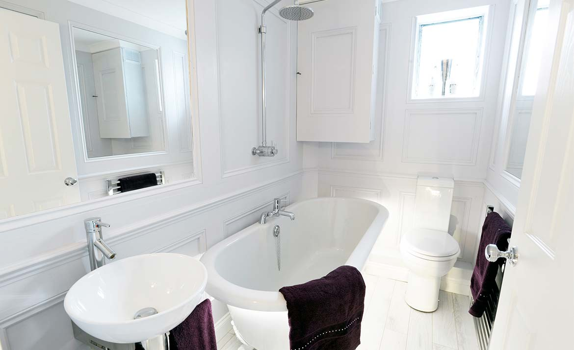 Bathroom Design in Norwich Norfolk by Swank Interiors