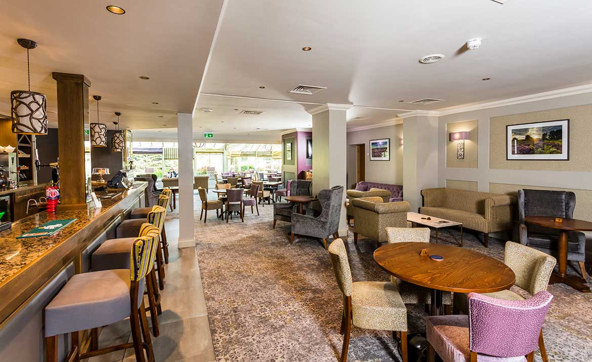 Interior Design for Park Farm Hotel Bar Area