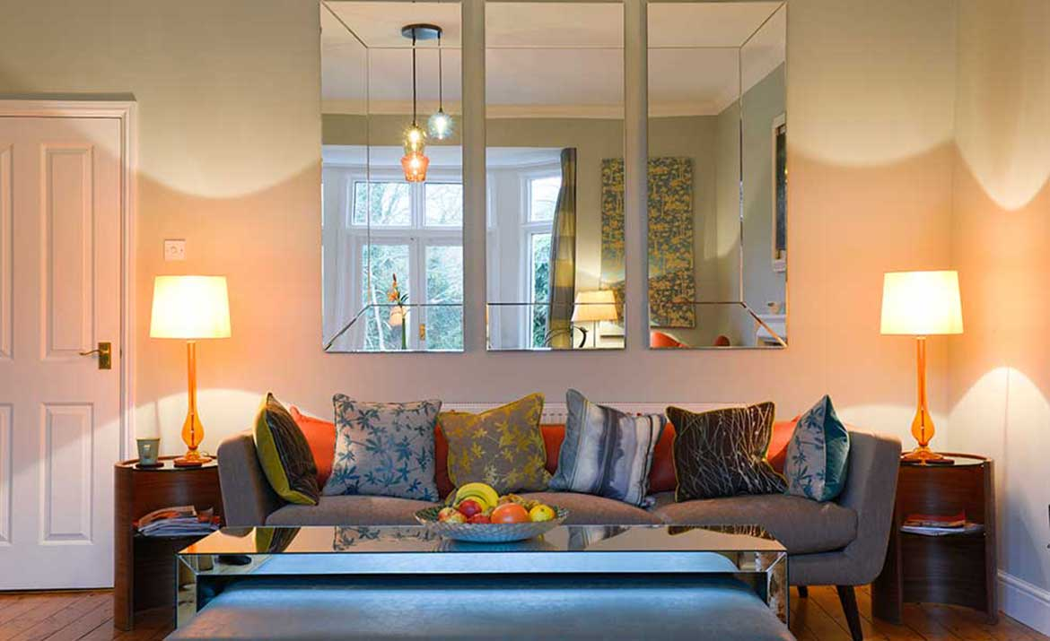 Design of family home by Swank Interiors