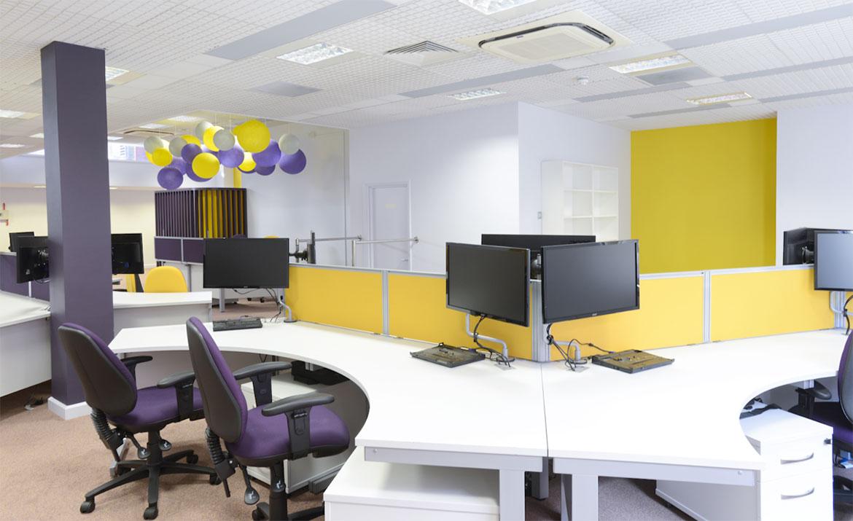 Office interior design in Norwich