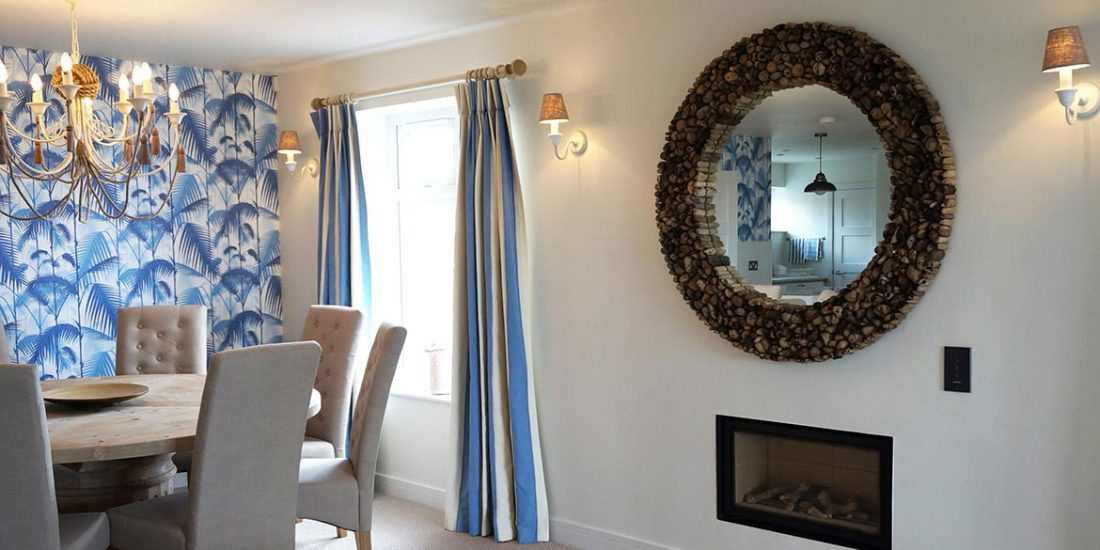 Holiday home interior design Southwold